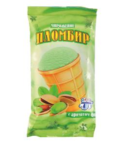 Пломбир с ароматом фисташки